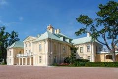 Grand or Menshikovskiy palace in Oranienbaum, Russia Stock Photos