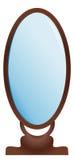 Grand miroir Images stock