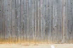 Grand modèle en bois parallèle de barrière, fond images libres de droits