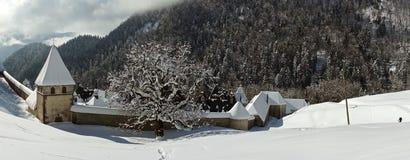 Grand monastère Chartreuse de La, France Photographie stock libre de droits