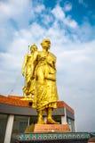 Grand Monk Khoon Statue Stock Photo