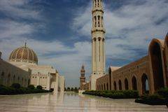 Grand Mosque Royalty Free Stock Images