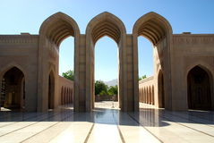 Grand Mosque. Sultan Qaboos Grand Mosque, Muscat Royalty Free Stock Images