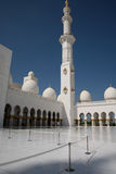 Grand mosque. In Abu Dhabi Royalty Free Stock Photos