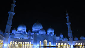 Grand Mosque Abu Dhabi Royalty Free Stock Images