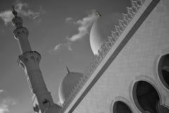 Grand mosque abu dhabi Stock Photo