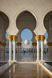 Grand mosque abu dhabi Royalty Free Stock Photo
