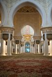Grand mosque abu dhabi Stock Image