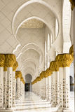 Grand Mosque Abu Dhabi Stock Images