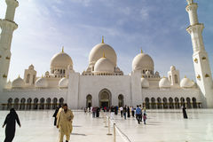 Grand Mosque Abu Dhabi Royalty Free Stock Image