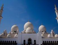 Grand Mosque Abu Dhabi Royalty Free Stock Photos