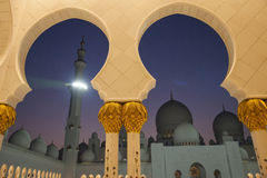 Grand Mosque, Abu Dhabi Stock Image
