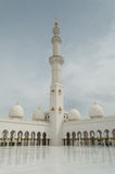 The grand mosque of Abu Dhabi Royalty Free Stock Photography