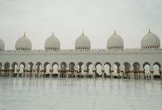 The grand mosque of Abu Dhabi Royalty Free Stock Images