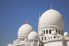 Grand Mosque, Abu Dhabi, UAE Royalty Free Stock Image