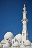 Grand mosque in abu dhabi, united arab emirates Stock Images
