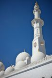 Grand mosque in abu dhabi, united arab emirates Stock Photo