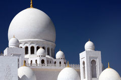 Grand Mosque in Abu Dhabi Stock Photography