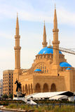 Grand Mosque in Beirut, Lebanon Stock Photography