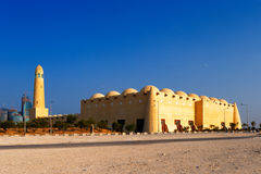 The Grand Mosque of Doha, Qatar Stock Image