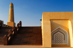 The Grand Mosque of Doha, Qatar Stock Photos