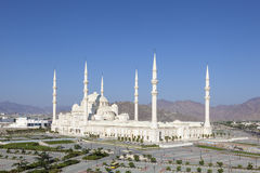 Grand Mosque in Fujairah, UAE Stock Image