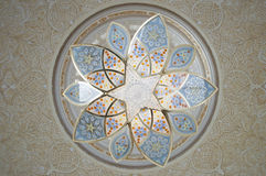 Grand Mosque Interiors Royalty Free Stock Photo