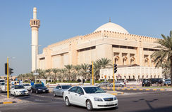 Grand Mosque in Kuwait City Stock Image