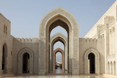 Grand Mosque in Muscat, Oman Royalty Free Stock Images