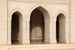 Grand Mosque in Muscat, Oman Royalty Free Stock Photos