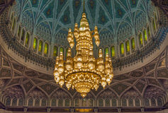 Grand Mosque - Muscat - Oman Royalty Free Stock Photography