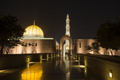 Grand Mosque in Muscat Stock Image