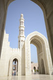 Grand Mosque in Muscat Royalty Free Stock Photography