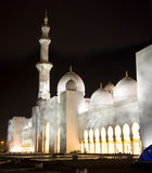 Grand Mosque in night Royalty Free Stock Images
