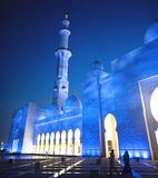 Grand Mosque or Sheikh Zayed Mosque royalty free stock images