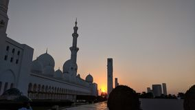 grand mosque at Abu Dhabi stock images