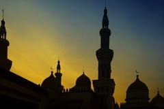 Grand Mosque Sunset Stock Photos