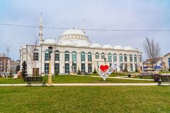 Free Grand Mosque Yusuf Bei Cami In Makhachkala. Republic Dagestan. Russia Royalty Free Stock Photos - 117047078