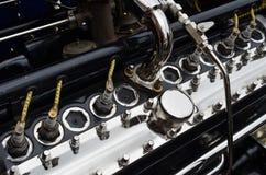 Grand moteur de voiture de vintage Photo libre de droits