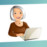 Grand Mother Royalty Free Stock Photography