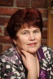 Grand-mère de sourire Photographie stock libre de droits
