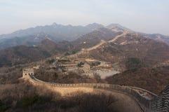 Grand mur-Badaling Photos libres de droits