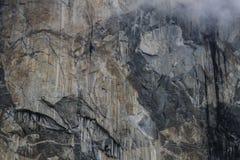 Grand mur Cimbing, Yosemite Images stock