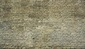 Grand mur de briques antique Image libre de droits