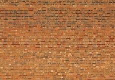 Grand mur de briques rouge de maison Image libre de droits