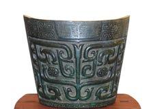 Grand Nao Cymbal avec la conception de bête-masque Images stock