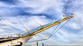 Grand navire de navigation Image stock