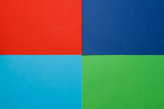Grand nombre de papier coloré Photographie stock libre de droits