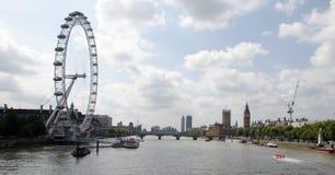 Grand oeil de Londres images libres de droits