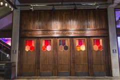 Grand ole opry entrance door royalty free stock images